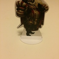 Small Sheriff of nottingham stand 3D Printing 151707