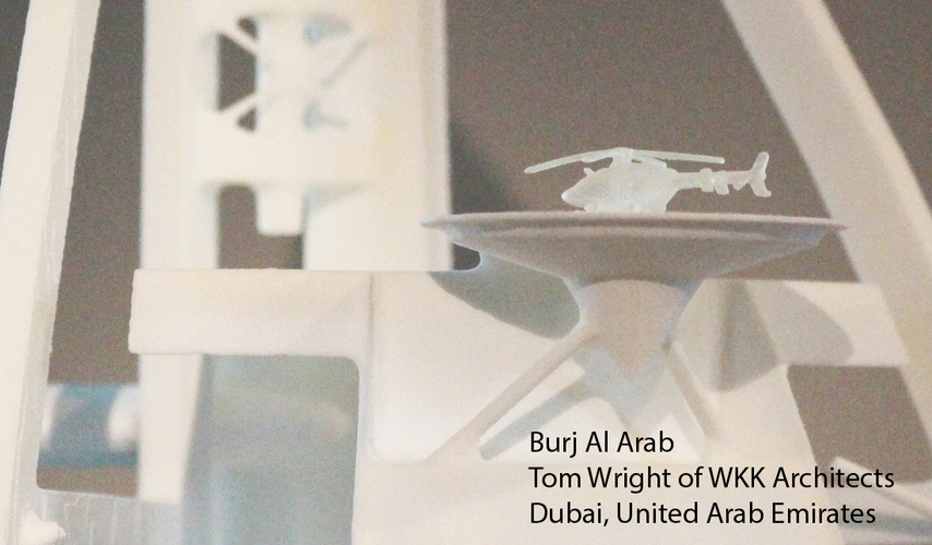 Burj Al Arab 3D Print 151746