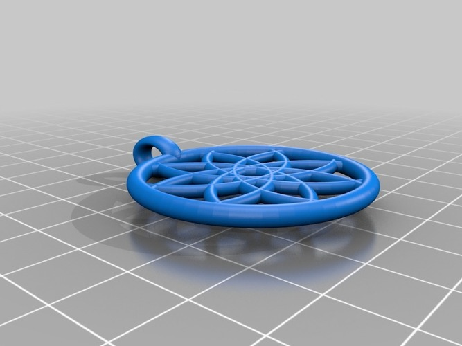 My Customized pendant 3D Print 15180