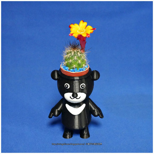 BEAR BRAVO Potted plants 3D Print 151820