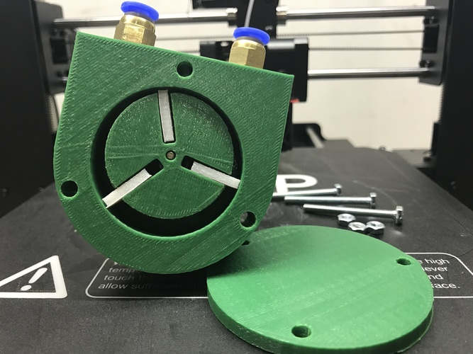 Nylon Vane Air Pump 3D Print 151838
