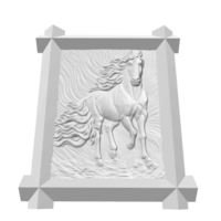 Small Framed Horse 3D Printing 151839