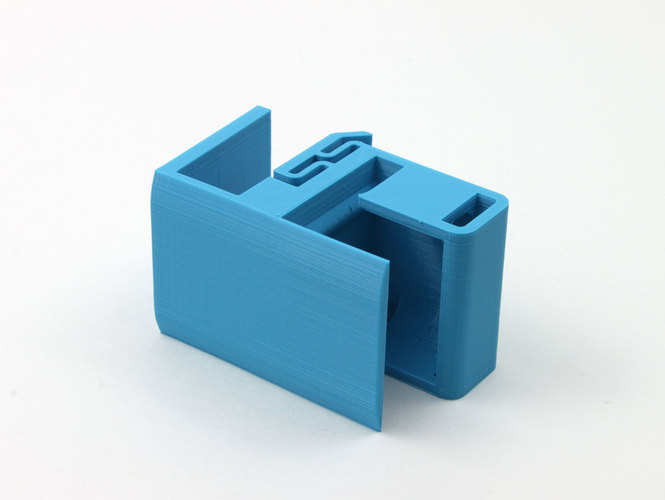 Shelf Mounted Toothbrush Holder 3D Print 151897