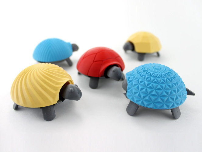Squishy Turtle 3D Print 151909