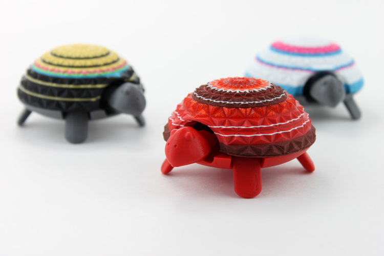 Squishy Turtle 3D Print 151911
