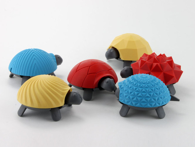 Squishy Turtle 3D Print 151913