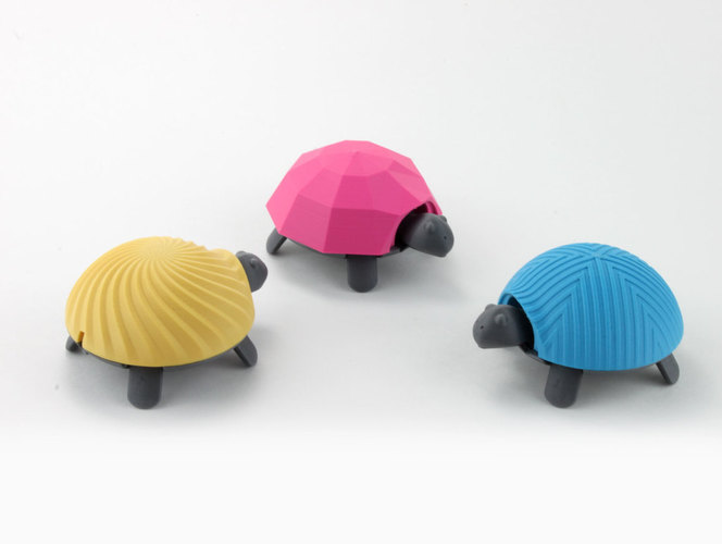 Squishy Turtle 3D Print 151915