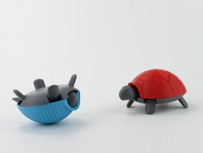 Squishy Turtle 3D Print 151917