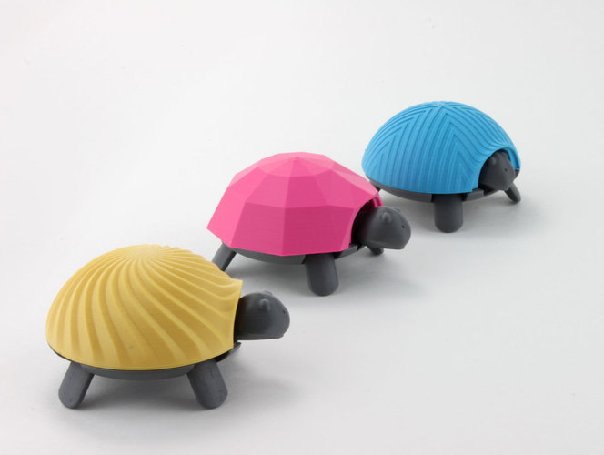 Squishy Turtle 3D Print 151918