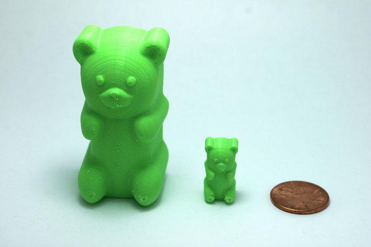 3d Printed Classic Gummy Bear By Jakejake Pinshape