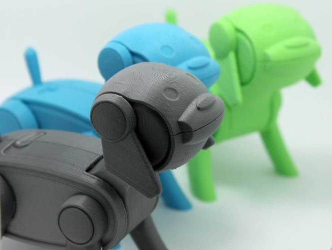 Gizmo - Robotic Dog 3D Print 151945