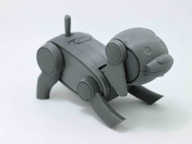 Gizmo - Robotic Dog 3D Print 151947