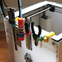 Small Ultimaker 2 Customizable Storage Rack 3D Printing 151979