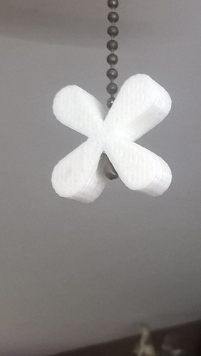 Pull Cord Ends for Ceiling Fan 3D Print 152114