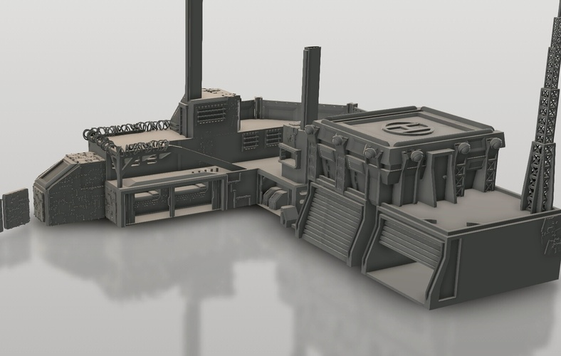 Stronghold 3D Print 152154
