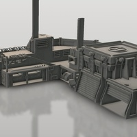 Small Stronghold 3D Printing 152154