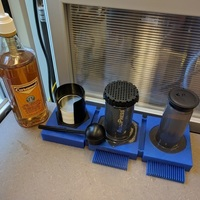Small Aeropress Drying Stand 3D Printing 152233