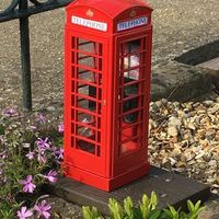 "Small UK ""K6"" Telephone Box 3D Printing 152327"