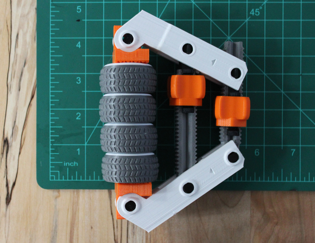 Hand-Screw Clamp 3D Print 152383