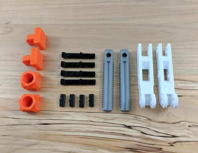 Hand-Screw Clamp 3D Print 152384