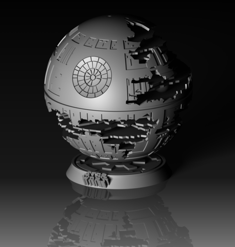 Death Star HQ (Star Wars) 3D Print 152537