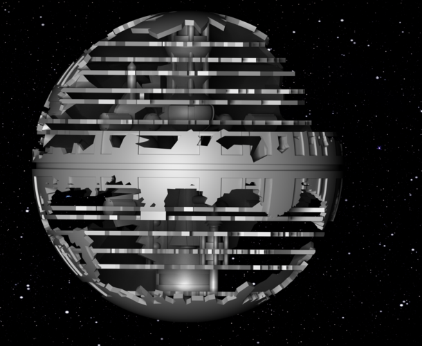 Death Star HQ (Star Wars) 3D Print 152540