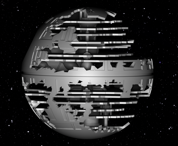 Death Star HQ (Star Wars) 3D Print 152541