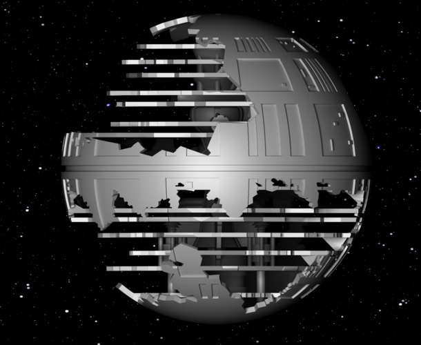 Death Star HQ (Star Wars) 3D Print 152542