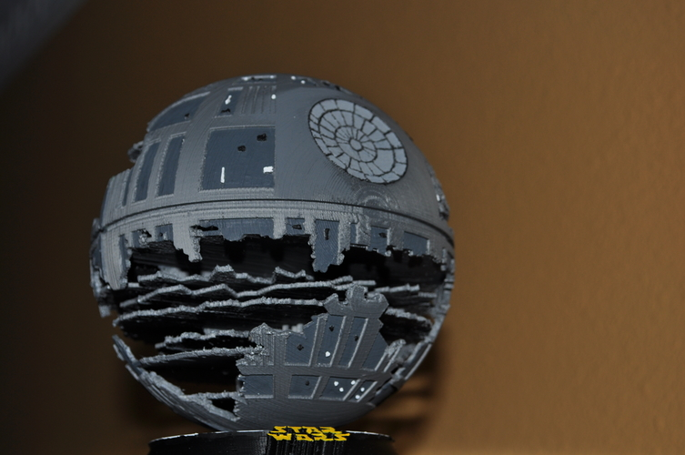 Death Star HQ (Star Wars) 3D Print 152544