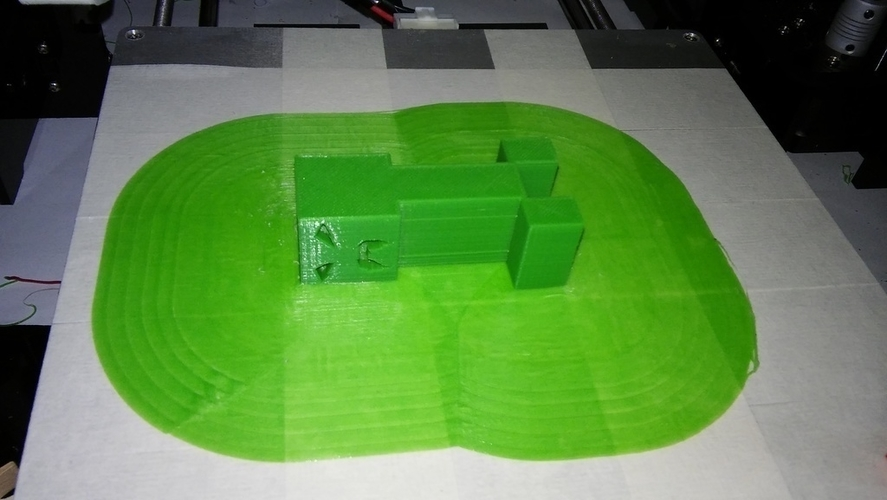 Creepy Creeper 3D Print 152823