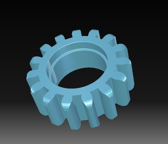 Toothed wheel 3D Print 152825