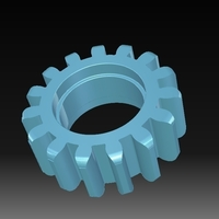 Small Toothed wheel 3D Printing 152825