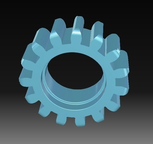 Toothed wheel 3D Print 152826