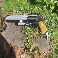 Small Full Sized Destiny Hawkmoon Revisited 3D Printing 152892
