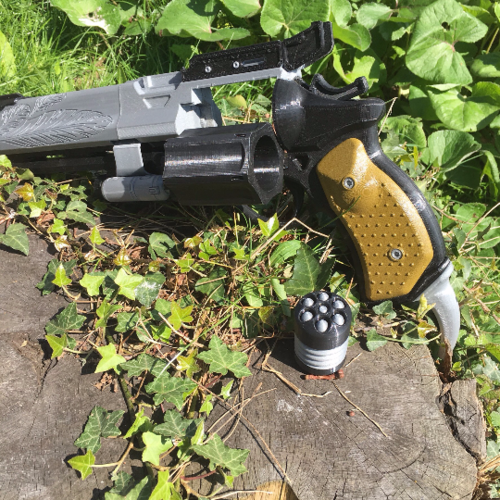 Full Sized Destiny Hawkmoon Revisited 3D Print 152893