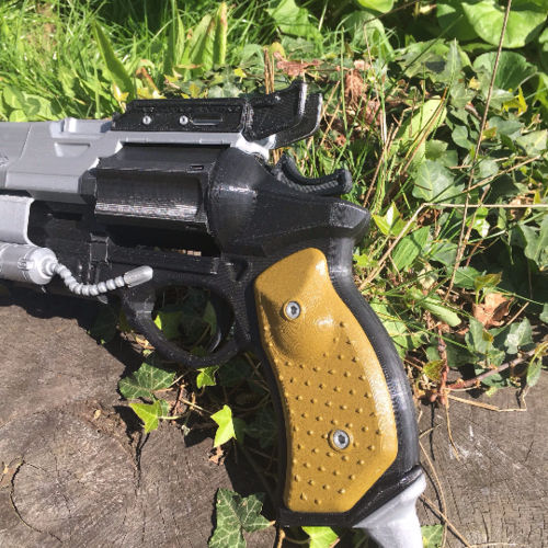 Full Sized Destiny Hawkmoon Revisited 3D Print 152894