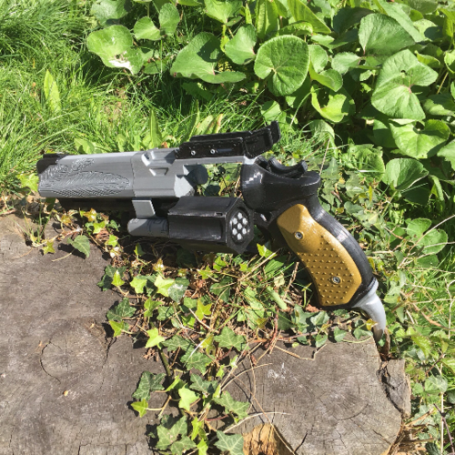 Full Sized Destiny Hawkmoon Revisited 3D Print 152896