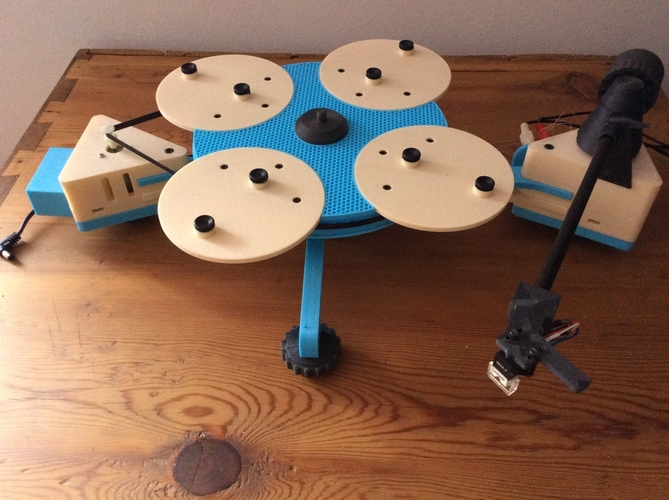 Vinyl Turntable -  It Plays Records :-) 3D Print 153022