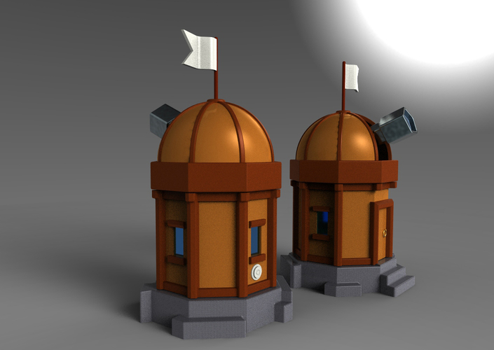 Mechanical Observatory 3D Print 153033