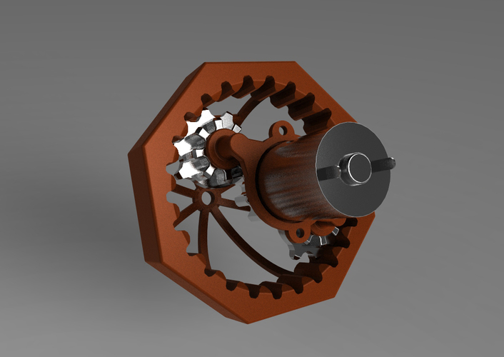 Mechanical Observatory 3D Print 153038