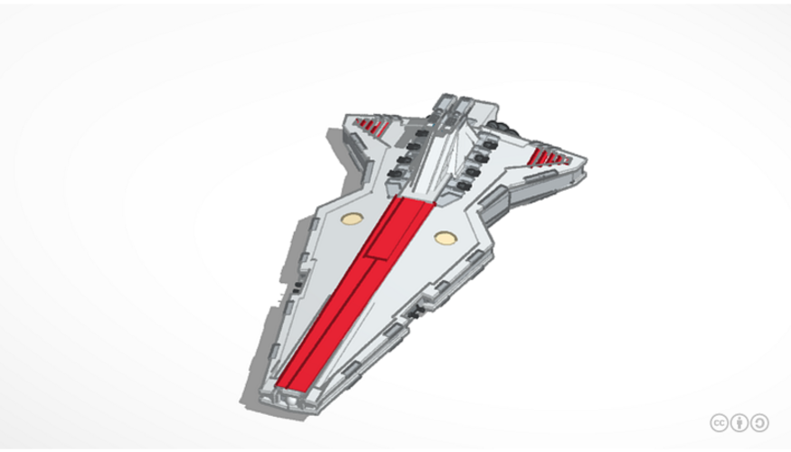 star wars ship 3D Print 153063