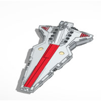 Small star wars ship 3D Printing 153063