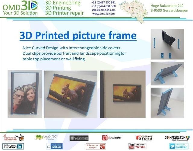 Picture Frame 3D Print 153218