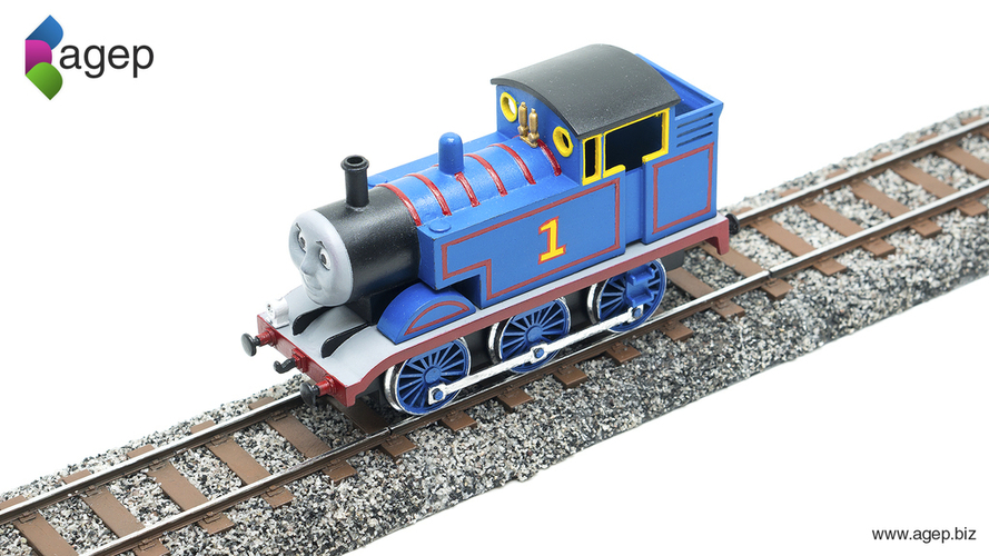 Railroad Track Section - Thomas & Friends 3D Print 153220