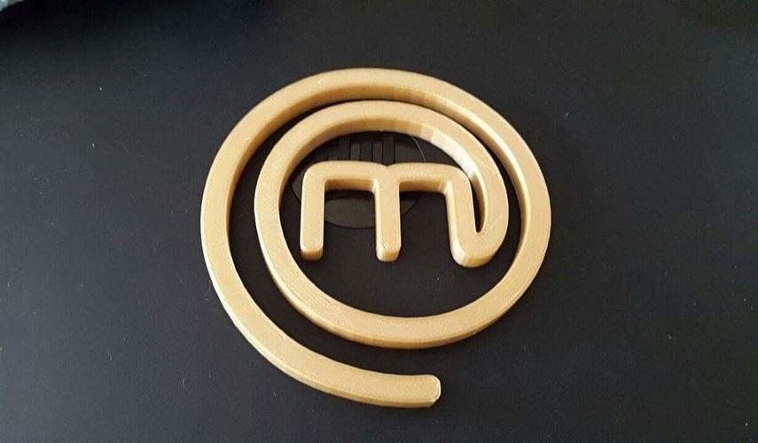Masterchef Logo 3D Print 153247