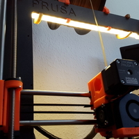 Small LED Holder (PRUSA I3 MK2) 3D Printing 153266