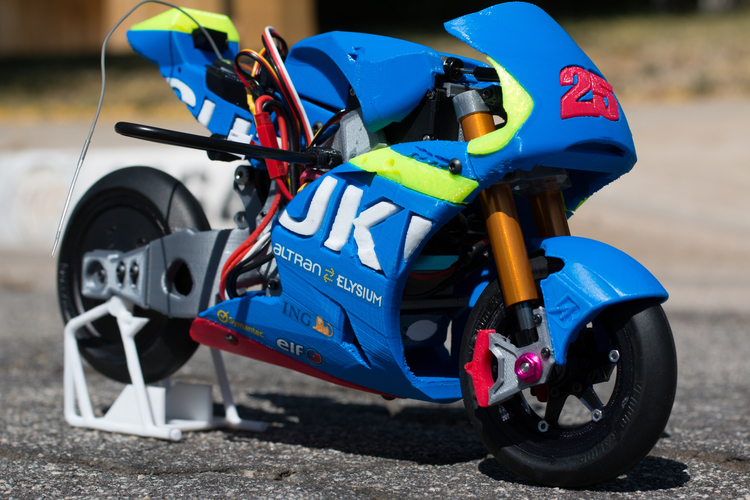 2016 Suzuki GSX-RR 1:8 Racing RC MotoGP Version2 3D Print 153288