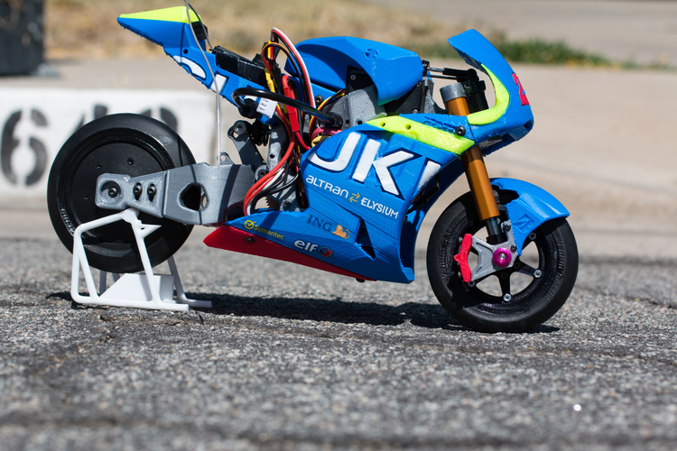 2016 Suzuki GSX-RR 1:8 Racing RC MotoGP Version2 3D Print 153290