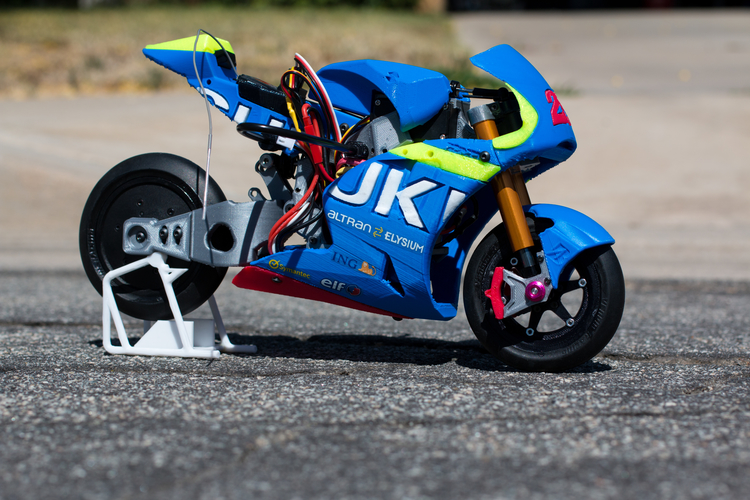 2016 Suzuki GSX-RR 1:8 Racing RC MotoGP Version2 3D Print 153291