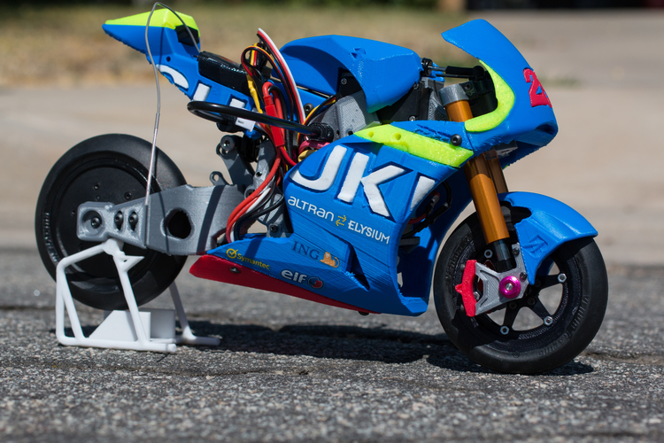 2016 Suzuki GSX-RR 1:8 Racing RC MotoGP Version2 3D Print 153292